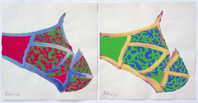 Hannes Hofstetter, 2 x BH popart, 1965