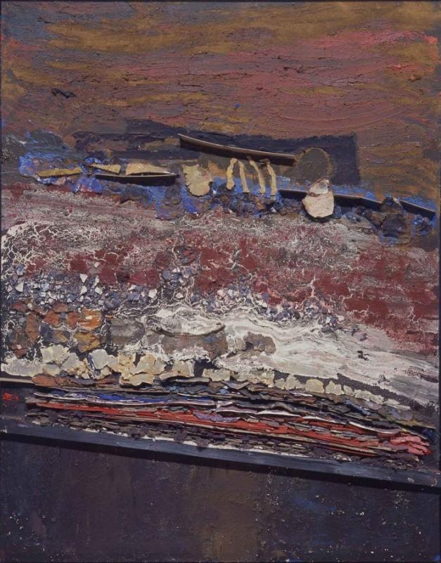 """Hannes Hofstetter, """"Bett"""", 1989"""