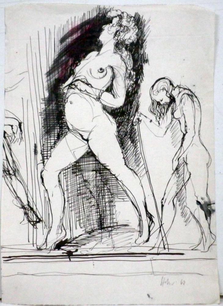 Hannes Hofstetter, Skizze68, 1968