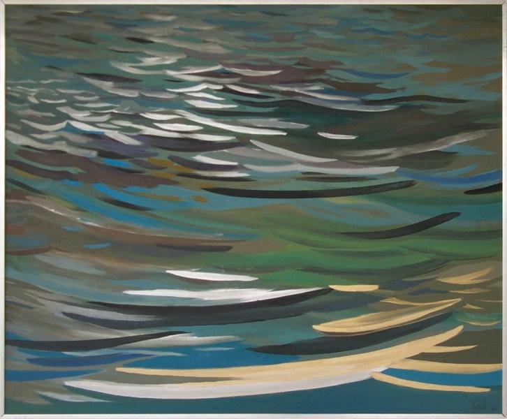 """Hannes Hofstetter, """"Water"""" XVI, 1981"""