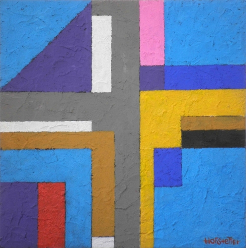 Hannes Hofstetter, Acryl und Öl, levity, 2015