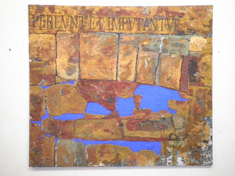 Hannes Hofstetter, PEREUNT ET IMPUTANTUR, 2002