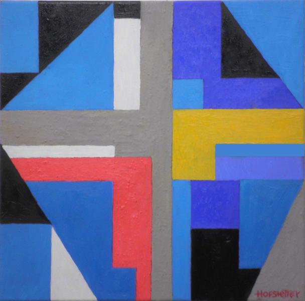 """Hannes Hofstetter, """"Blaue Sinfonie"""", 2018"""