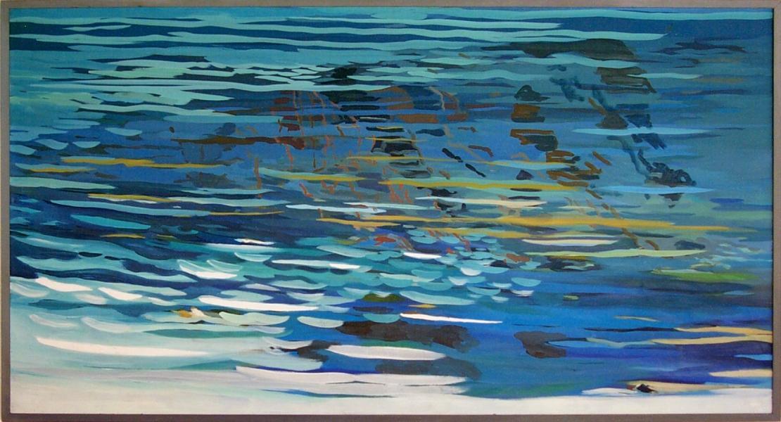 """Hannes Hofstetter, """"Wasser XI"""",1980"""