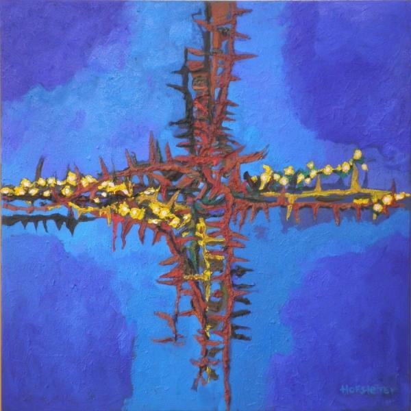 Hannes Hofstetter, Rosen Dornen Kreuz, 2002