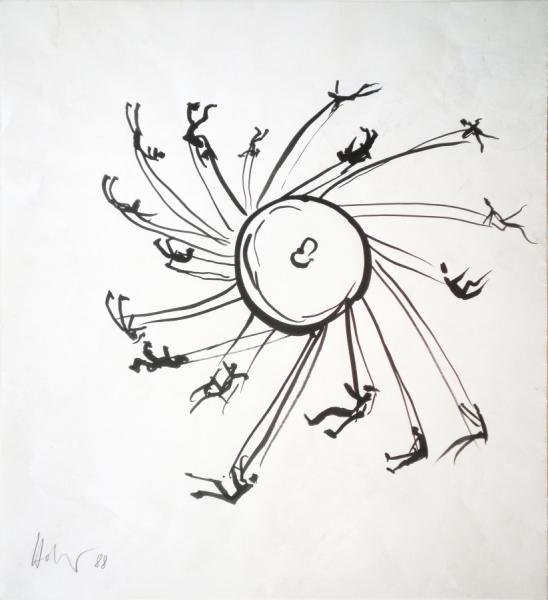 "Hannes Hofstetter, ""Roundabout"" 1988"